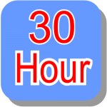30 hour block booking