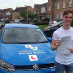 Alex passed his driving test on 30 August 2019