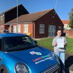 Beth passed her driving test on 30 September 2019