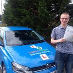 Cameron passed his driving test on 5 October 2019