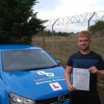 Conor passed his driving test on 5 October 2019