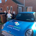 Ellie passed her driving test on 28 October 2019