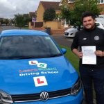 Rob passed his driving test on 19 August 2019