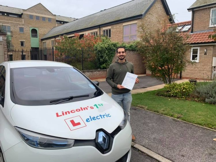 Seif passed his driving test on 12 October 2019