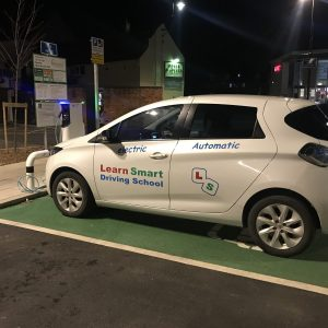 Automatic electric driving lessons